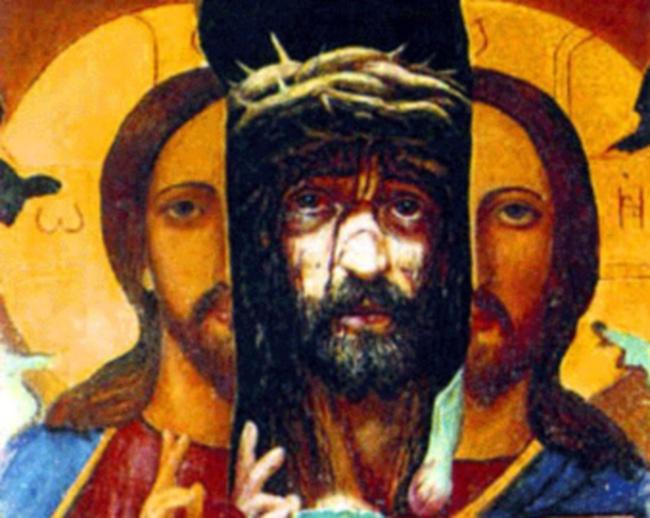 Художник Исачев картина Христос